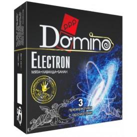 Ароматизированные презервативы Domino Electron - 3 шт.